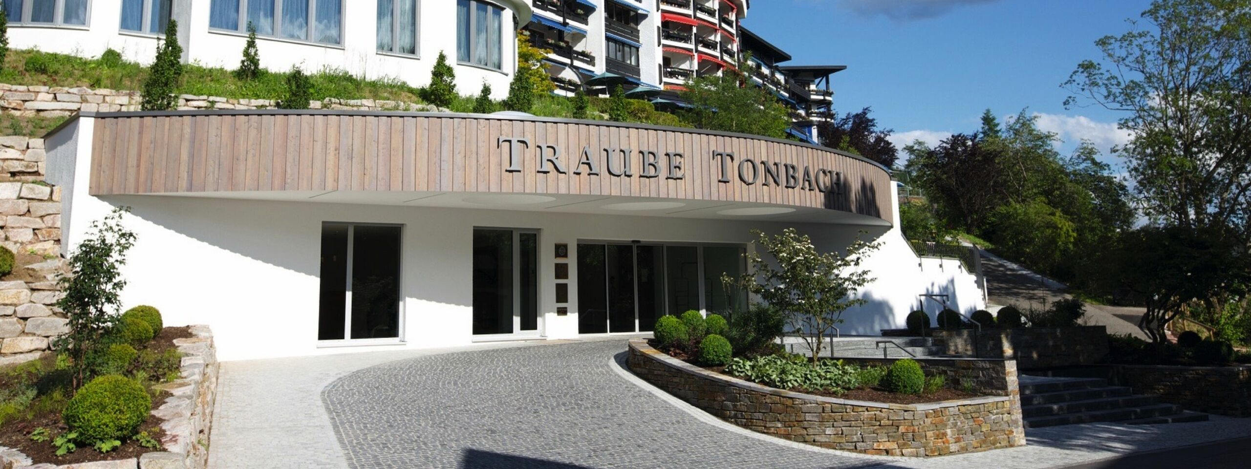 Traube Tonbach Main House Outside View Entrance